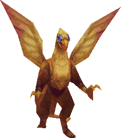 The Griffon in the 3D versions of Final Fantasy III.