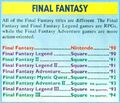 NP Final Fantasy Adventure II