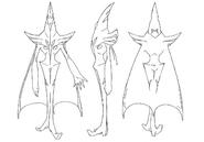 Pist concept sketch for Final Fantasy Unlimited