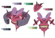 Typhoon palette concept for Final Fantasy Unlimited