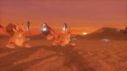WoFF Phantom Sands Desert Battle Background
