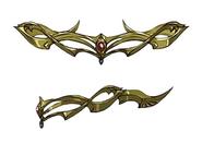 Circlet artwork for Final Fantasy VII Remake