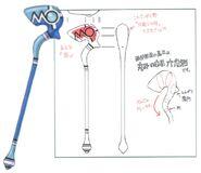 Flame Staff FFIX Art 2