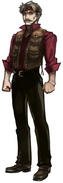 Tifa's father from Final Fantasy VII Remake artwork