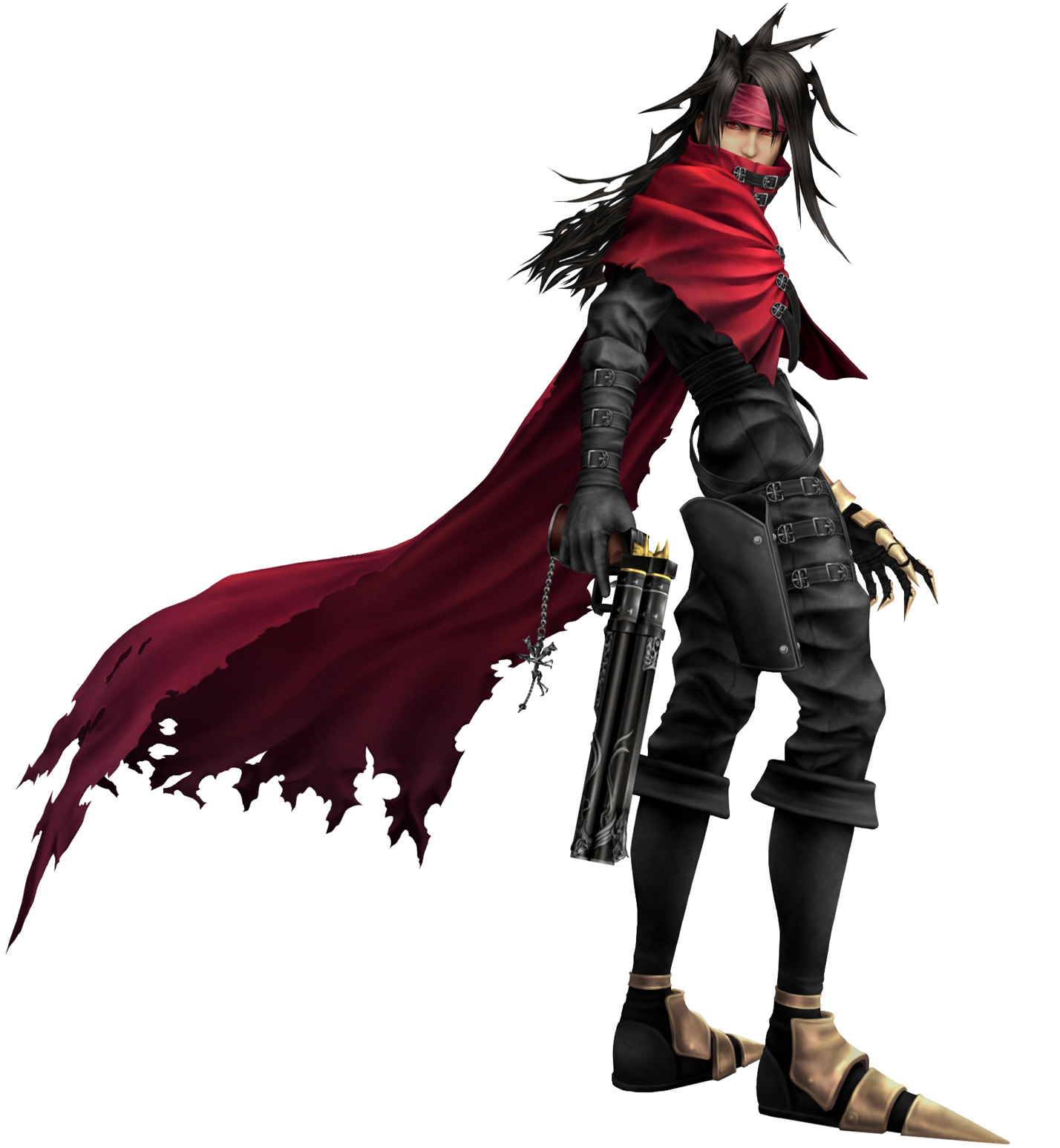 Dirge of Cerberus -Final Fantasy VII- characters