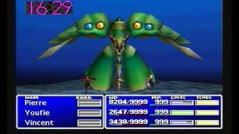 FF7 - Some boss freezes