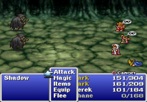 Final Fantasy statuses