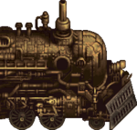 The Phantom Train as it appears in Final Fantasy 20th Anniversary and Final Fantasy IV Complete Collection.