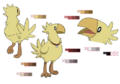 Chobi palette concept for Final Fantasy Unlimited