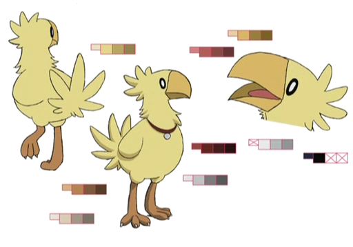 Chobi palette concept for Final Fantasy Unlimited.png