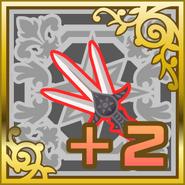 FFAB Dancing Dagger +2 SR+
