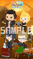 FFAB Final Fantasy XV Cast