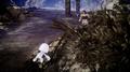 Sarah helps a Hiso Alien in FFXV x Terra Wars collab