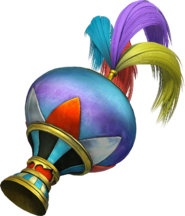 DFF2015 Mysterious Hair Ornament Kefka
