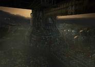 Sector 4 Plate underside artwork for Final Fantasy VII Remake