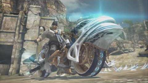 (HD)_PS3_Final_Fantasy_XIII_Summon_-_Shiva_-_Snow