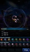 FFBE Scorpion Analyze