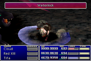 FFVII Waterkick