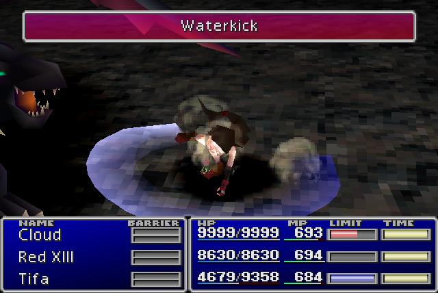 Waterkick