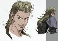 Roche from Final Fantasy VII Remake artwork
