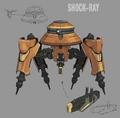 Shock-Ray artwork for FFVII Remake
