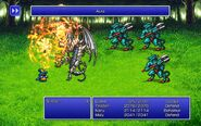 EVK using Aura from FFIII Pixel Remaster