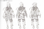 FFXIV ARR Alphinaud attire concept