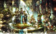 FFXIV ARR Guilds Promo Art
