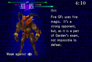 Ifrit Scanned from FFVIII Remastered