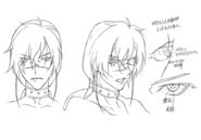 Kaze eye concept for Final Fantasy Unlimited