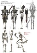 Lightning Returns - Skeleton Concept