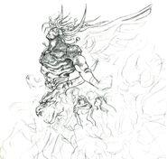 Neo Exdeath FFV Nomura Art