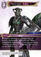 Twilight Odin 5-101H from FFTCG Opus