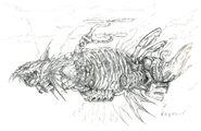 Death Airship FFV Art (unused)