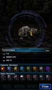 FFBE Tyrannosaur Analyze 2