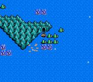 FFIII NES Underwater Cave