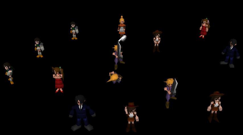 Debug Room (Final Fantasy VII)/Thousand Room