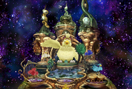 Fat Chocobo in Chocobos Dream World from FFIX Remastered