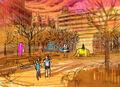 Final Fantasy Unlimited preliminary illustration 2