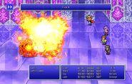 Firion using Fire X from FFII Pixel Remaster