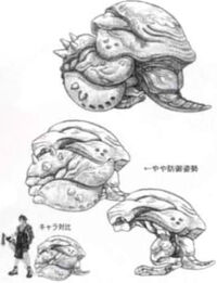Artwork of Helm enemies.