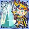 FFAB Rune Saber - Warrior of Light Legend SSR
