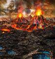 FFBE Volcanic Grounds BG