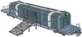 Freight car artwork for FFVII Remake