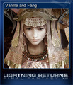 LRFFXIII Steam Card Vanille and Fang