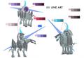 Odin palette concept for Final Fantasy Unlimited