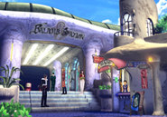 Queen of Cards at Balamb Station in FFVIII R