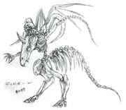 Skeletal Horror FFVI Art