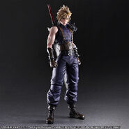 Cloud Limited Color Version FF7R by Play Arts Kai