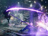 Final Fantasy VII Remake battle system